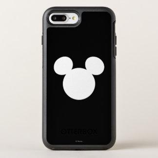Disney Logo   White Mickey Icon OtterBox Symmetry iPhone 7 Plus Case