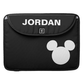 Disney Logo | White Mickey Icon Sleeve For MacBooks