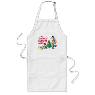 Disney | Mickey & Friends - Holiday Cheer Quote Long Apron