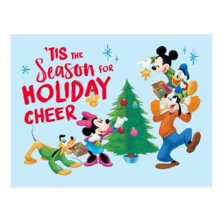 Disney | Mickey & Friends - Holiday Cheer Quote Postcard