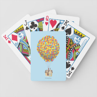 Disney Pixar UP | Balloon House Pastel Bicycle Playing Cards