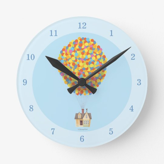 Disney Pixar UP | Balloon House Pastel Clocks