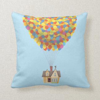 Disney Pixar UP   Balloon House Pastel Throw Pillow
