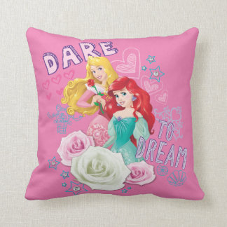 Disney Princess | Aurora and Ariel Throw Pillow