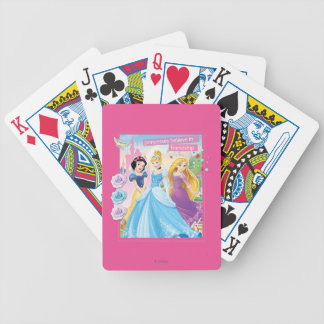 Disney Princess | Believe in Friendship Bicycle Playing Cards