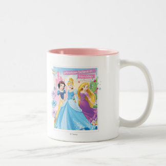 Disney Princess | Believe in Friendship Two-Tone Coffee Mug