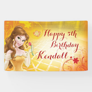 Disney Princess Belle Banner