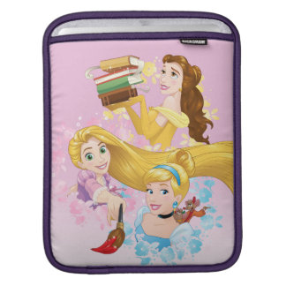 Disney Princess | Belle, Rapunzel, Cinderella iPad Sleeve
