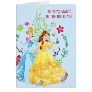 Disney Princess | Christmas Princesses Card