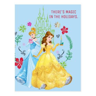 Disney Princess | Christmas Princesses Postcard