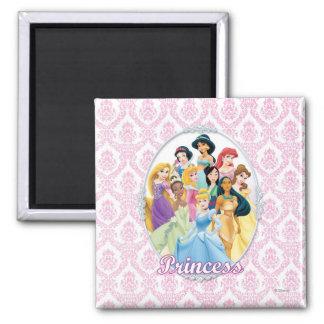 Disney Princess | Cinderella Featured Center Square Magnet