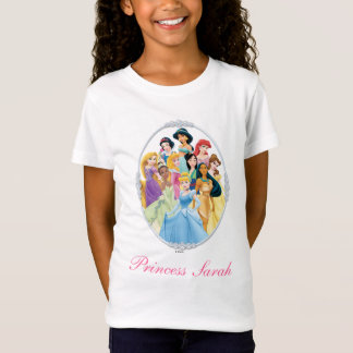 Disney Princess | Cinderella Featured Center T-Shirt