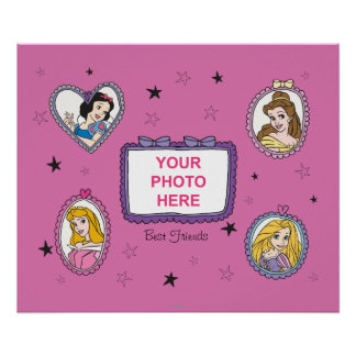 Disney Princess Customizable Poster