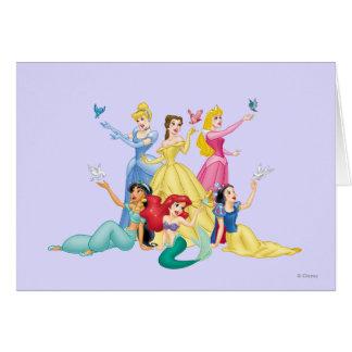 Disney Princess | Hands Up with Birds Card