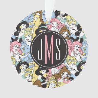 Disney Princess | Monogram Oversized Pattern Ornament