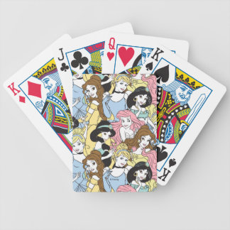 Disney Princess | Oversized Pattern Bicycle Playing Cards