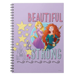 Disney Princess | Rapunzel and Merida Notebooks