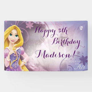Disney Princess Rapunzel Birthday Banner