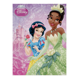 Disney Princess | Snow White and Tiana Poster