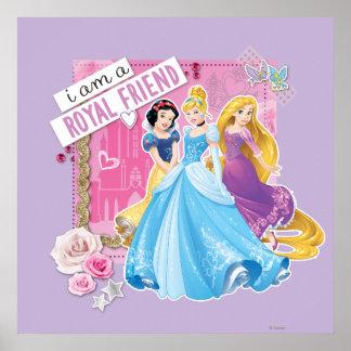 Disney Princess | Snow White, Cinderella, Rapunzel Poster