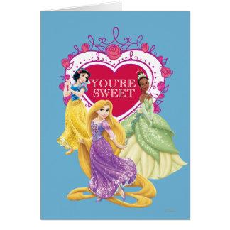 Disney Princess   You're Sweet Card