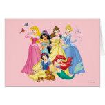 Disney Princesses 3 Greeting Card
