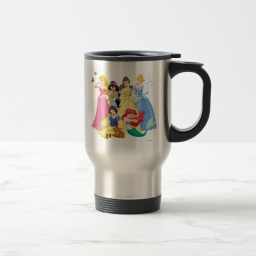 Disney Princesses 3 Coffee Mug