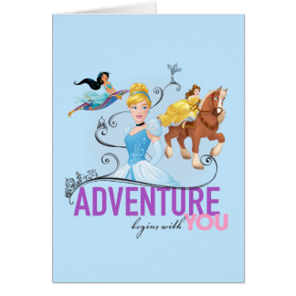 Disney Princesses | Adventure Begins With You Card