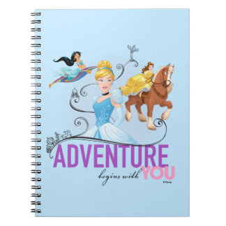 Disney Princesses | Adventure Begins With You Note Book