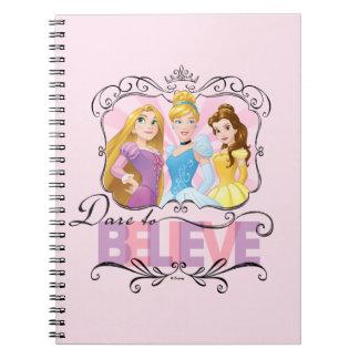 Disney Princesses | Dare To Believe Notebook