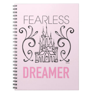Disney Princesses | Fearless Dreamer Spiral Note Book