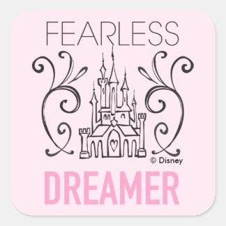 Disney Princesses | Fearless Dreamer Square Sticker