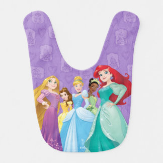 Disney Princesses | Fearless Is Fierce Bib