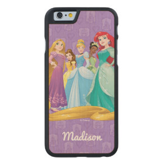 Disney Princesses | Fearless Is Fierce Carved® Maple iPhone 6 Case