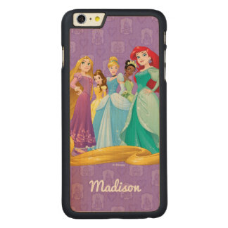 Disney Princesses | Fearless Is Fierce Carved® Maple iPhone 6 Plus Case