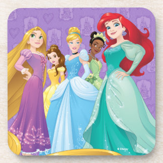 Disney Princesses | Fearless Is Fierce Drink Coaster