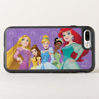 Disney Princesses | Fearless Is Fierce OtterBox Symmetry iPhone 7 Plus Case