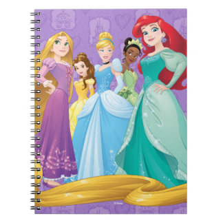 Disney Princesses | Fearless Is Fierce Spiral Note Books