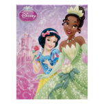 Disney Princesses: Snow White and Tiana Posters