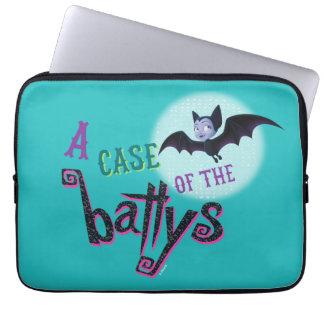 Disney | Vampirina - Funny Bat Quote Laptop Sleeve