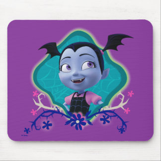 Disney | Vampirina - Vee - Gothic Floral Mouse Pad