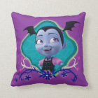 Disney | Vampirina - Vee - Gothic Floral Throw Pillow