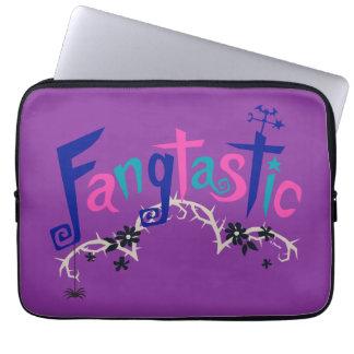 Disney   Vampirina - Vee - Spooky Typography Laptop Sleeve