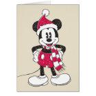 Disney   Vintage Mickey - Festive Fun Card