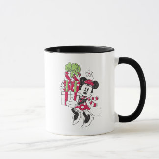 Disney | Vintage Minnie Delivering Holiday Cheer Mug