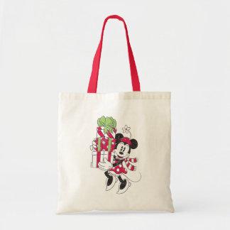 Disney | Vintage Minnie Delivering Holiday Cheer Tote Bag
