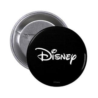 Disney White Logo 2 Inch Round Button