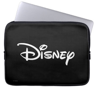 Disney White Logo Laptop Sleeve