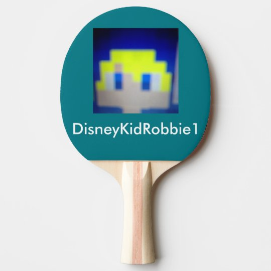 DisneyKidRobbie1 Ping-Pong Paddle