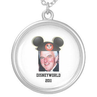 "Disneyworld 2011 - Team ""Z"" Silver Plated Necklace"